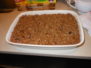Fully Cooked Cranberry Crisp