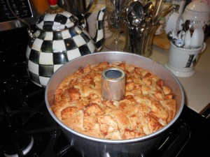 Finished Product Apple Cake