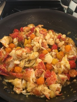 Lobsta Pasta in the Pan
